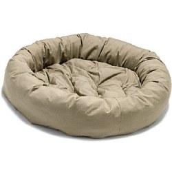 """Dog Gone Smart - Donut Bed - Sand - 35"""""""