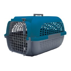 Dogit - Voyageur Pet Carrier - Blue - Medium