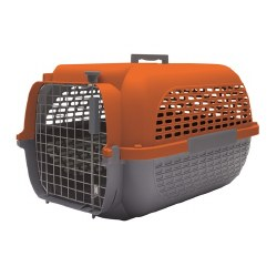 Dogit - Voyageur Pet Carrier - Orange - Medium