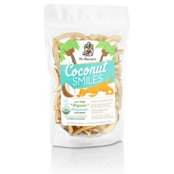 Dr. Harvey's - Coconut Smiles - Dog Treats - 8 oz