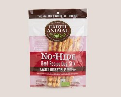 Earth Animal No Hide - Beef Stix - 10 pack