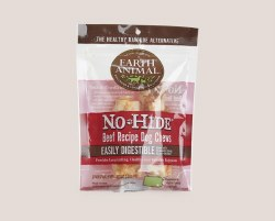 Earth Animal No Hide - Beef Chew - 4 in - 2 pack