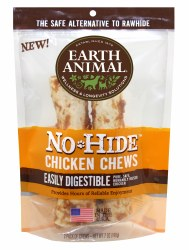 Earth Animal No Hide - Chicken Chew - 4 in - 2 pack