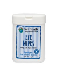 Earthbath - Eye Wipes - 25 ct