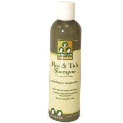 EcoPure - Flea and Tick Shampoo - 8 oz