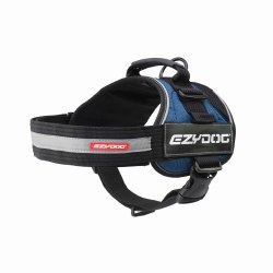 EzyDog - Convert Dog Harness - Blue - Extra Large