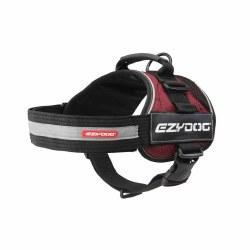 EzyDog - Convert Dog Harness - Burgundy - Medium