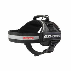 EzyDog - Convert Dog Harness - Charcoal - Large