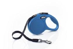 Flexi - Classic Tape Retractable Dog Leash - Blue - Extra Small - 10'
