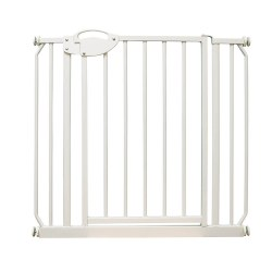 "Four Paws - Metal Walk Through Gate - 30-34""x39.5"""