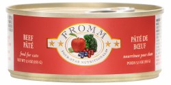 Fromm Four Star - Beef Pate - Canned Cat Food - 5.5 oz