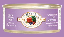 Fromm Four Star - Beef & Venison Pate - Canned Cat Food - 5.5 oz