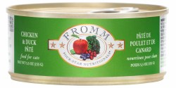 Fromm Four Star - Chicken & Duck Pate - Canned Cat Food - 5.5 oz