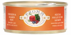 Fromm Four Star - Chicken & Salmon Pate - Canned Cat Food - 5.5 oz
