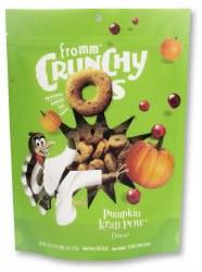 Fromm Crunchy Os - Pumpkin Kran Pow - Dog Treats - 6 oz