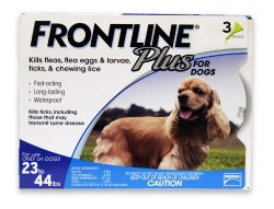 Frontline Plus - 23 to 44 Dog - 3 months