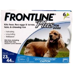 Frontline Plus - 23 to 44 lb Dog - 6 months
