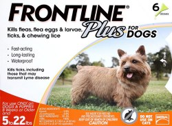 Frontline Plus - 0 to 22 lb Dog - 6 months