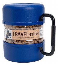 Gamma2 - Vittles Vault - Travel-Tainer Bowl - Blue