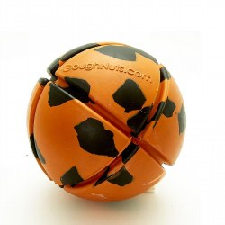 GoughNuts - Dog Toy - Ball - Orange