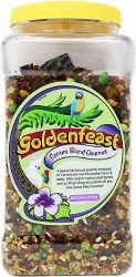 Goldenfeast - Conure Blend - Bird Food - 64 oz