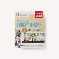 The Honest Kitchen - Whole Grain Turkey Recipe - Dehydrated Dog Food - 10 lb