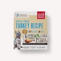 The Honest Kitchen - Whole Grain Turkey Recipe - Dehydrated Dog Food - 4 lb