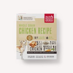 The Honest Kitchen - Whole Grain Chicken Recipe - Dehydrated Dog Food - 4 lb