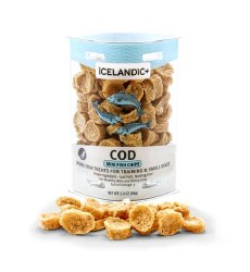 Icelandic+ - Dog Treats - Cod Fish Chips Mini - 2.5 oz