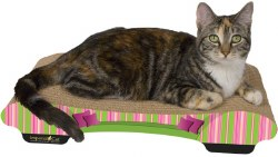 Imperial Cat - Cardboard Scratcher - Bella Sofa - Stripes