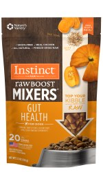 Instinct Raw Boost Mixers - Gut Health - Freeze Dried Dog Food - 5.5 oz