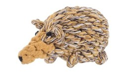Jax & Bones - Rope Dog Toy - Hedgehog