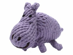 Jax & Bones - Rope Dog Toy - Hippo