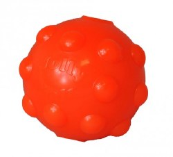 "Jolly Pet - Dog Toy - Jolly Jumper - Orange - 3"""