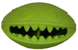 """Jolly Pet - Dog Toy - Monster Mouth - 3"""""""