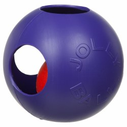 Jolly Pet - Dog Toy - Teaser Ball - Purple - 10""