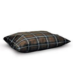 K&H - Indoor/Outdoor Single Seam Bed - Brown Plaid - Large