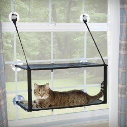 K&H - Cat Furniture - EZ Window Mount Kitty Sill - Double Stack