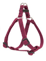 """Lupine  -Eco - 3/4"""" Wide Adjustable Harness - Berry - 20-30"""""""