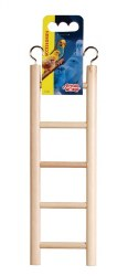 Living World - Wooden Ladder for Birds - 5 Step