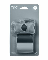 Modern Kanine - Bag Dispenser - Grey