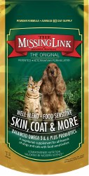The Missing Link - Original Well-Blend - Vegetarian - Skin, Coat, & More - Dog & Cat - 1 lb