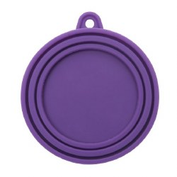 Messy Mutts - Silicone Can Cover - Purple