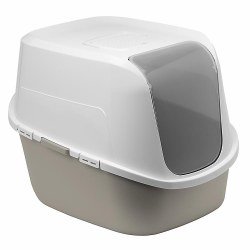 Moderna - Cat Litter Box - Amerix - Warm Gray