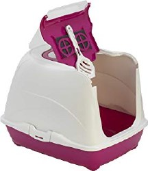 Moderna - Cat Litter Box - Jumbo Flip - Hot Pink