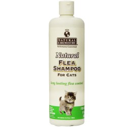 Natural Chemistry - Flea Shampoo for Cats - 16 oz