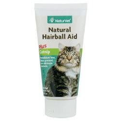 NaturVet - Natural Hairball Aid Plus Catnip - Gel - 3 oz