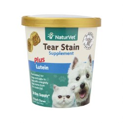 NaturVet - Tear Stain Supplement - Soft Chews - 70 ct