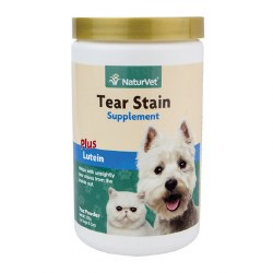 NaturVet - Tear Stain Supplement - Powder - 200 g