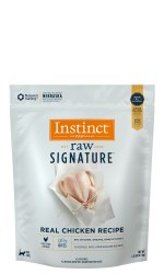 IN STORE AND CURB-SIDE PICK UP ONLY - Instinct Signature - Chicken Raw Bites - Raw Cat Food - 1.25 lb